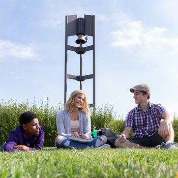 10 instagram worthy shots around campus . jjc joliet junior college bell tower