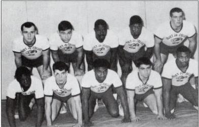 1963 1964 JJC Wrestling Team 115 Years Celebrate anniversary photo