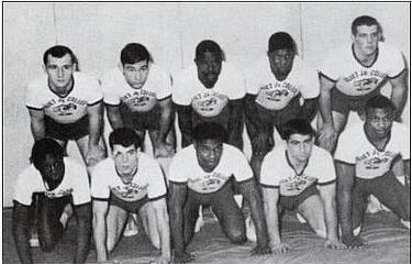 1963 1964 JJC Wrestling Team 115 Years Celebrate anniversary photo