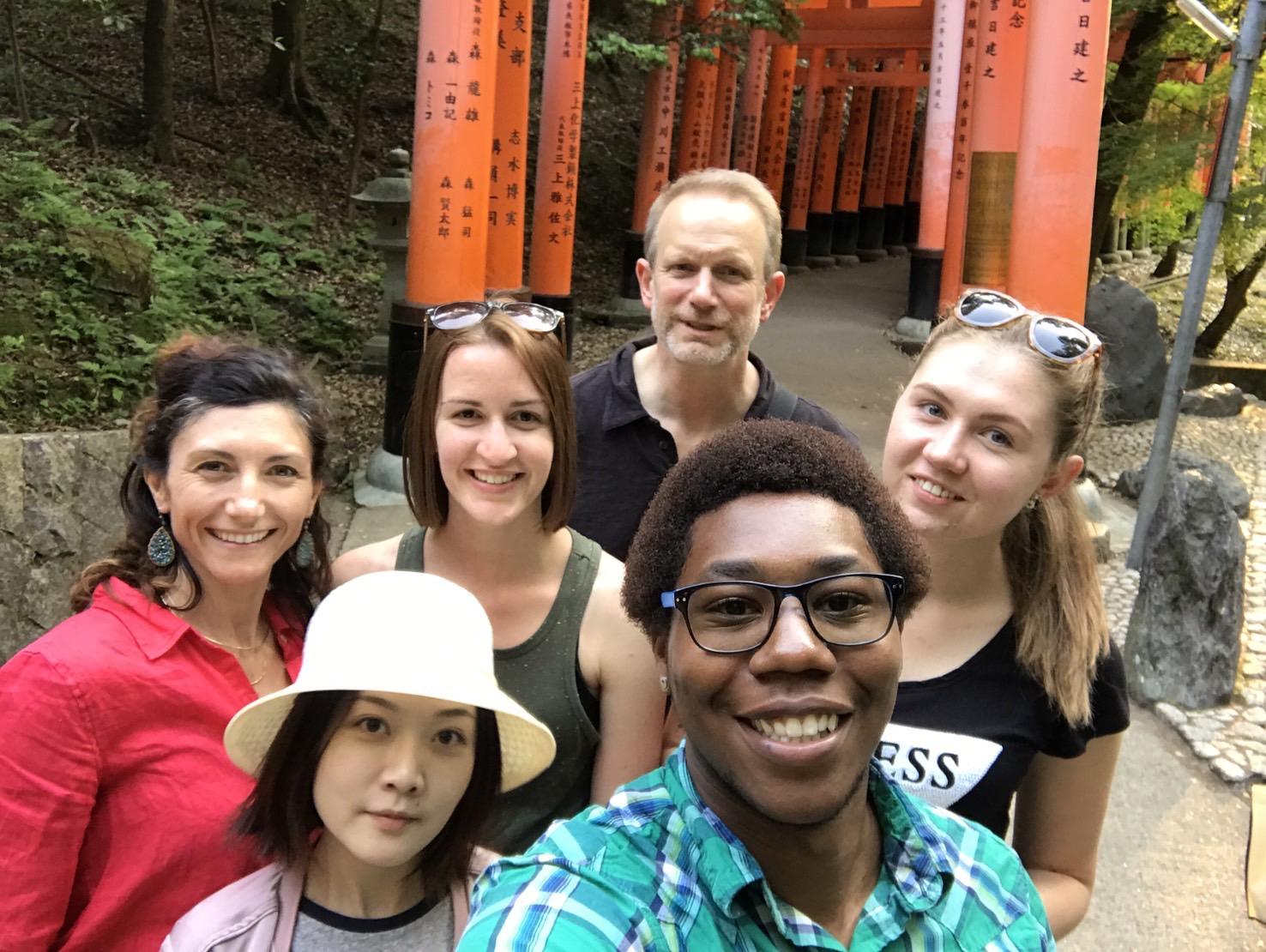 10,000 Torii Gates a study abroad experience in japan jjc joliet junior college