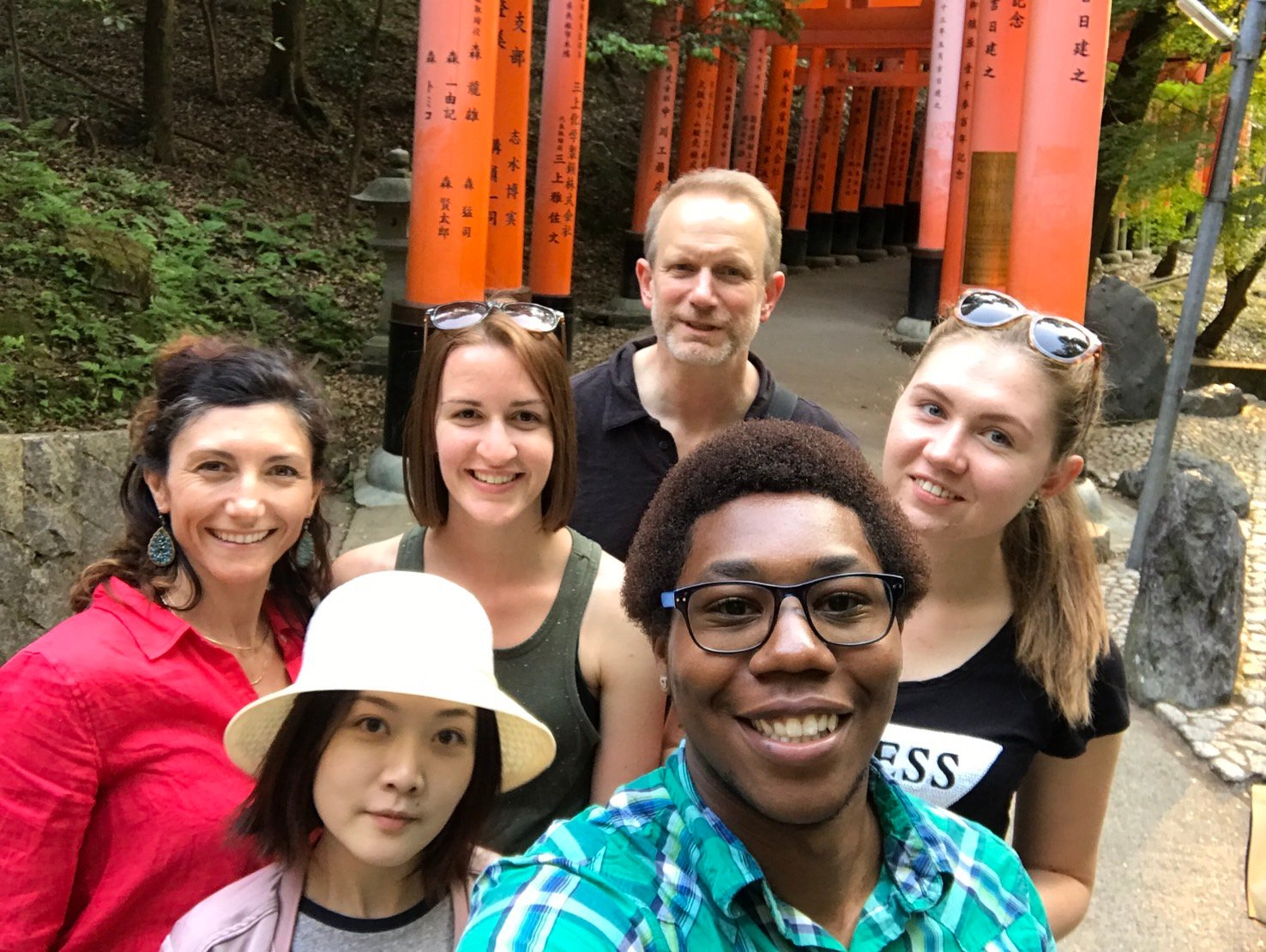 10,000 Torii Gates a study abroad experience in japan jjc joliet junior college