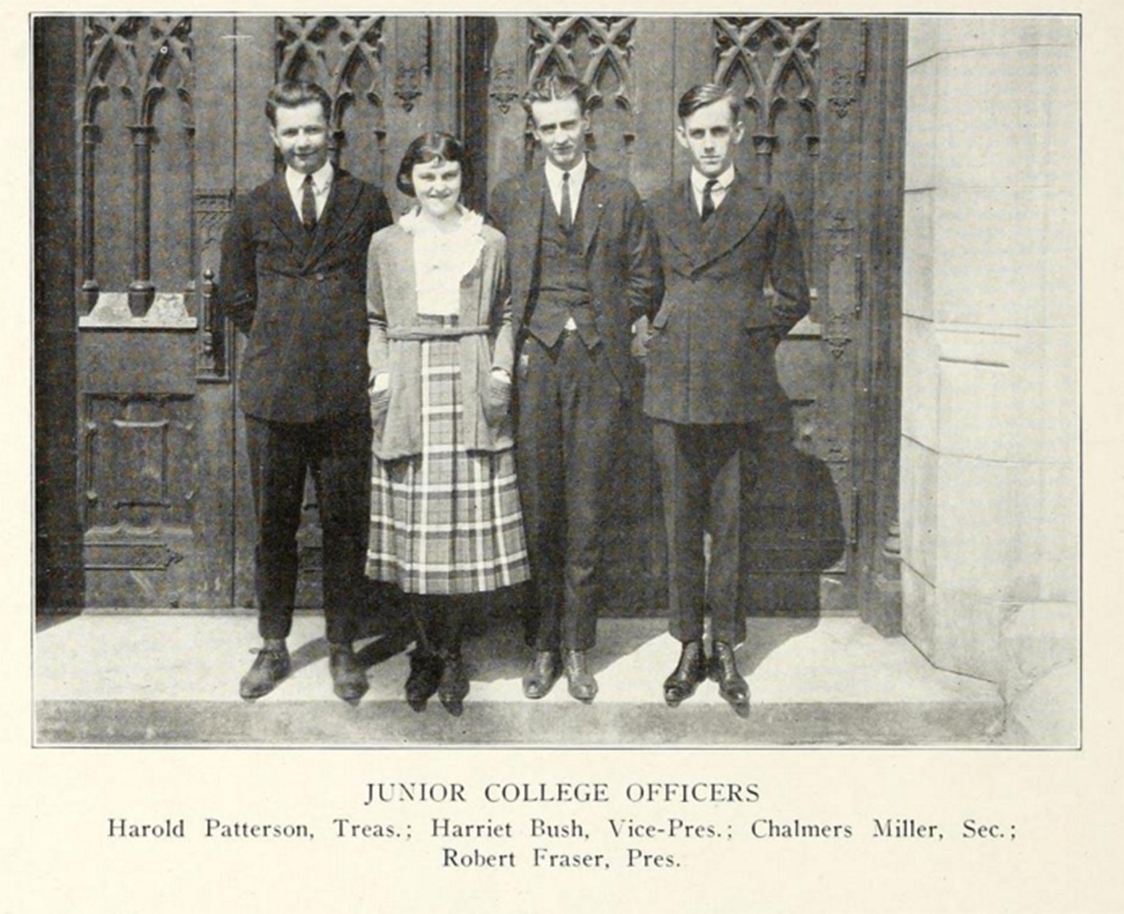 1921 Junior College Officers JJC 115 years