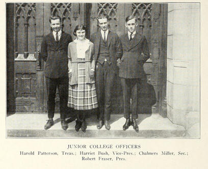 1921 Junior College Officers JJC 115 years