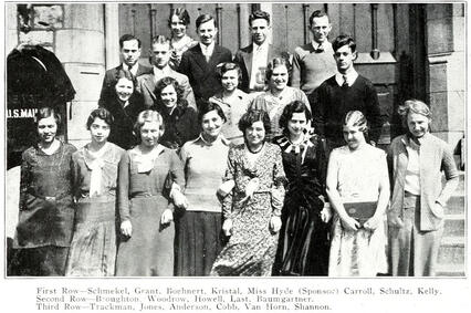 1930 JJC Blazer Staff 115 years students anniversary photo
