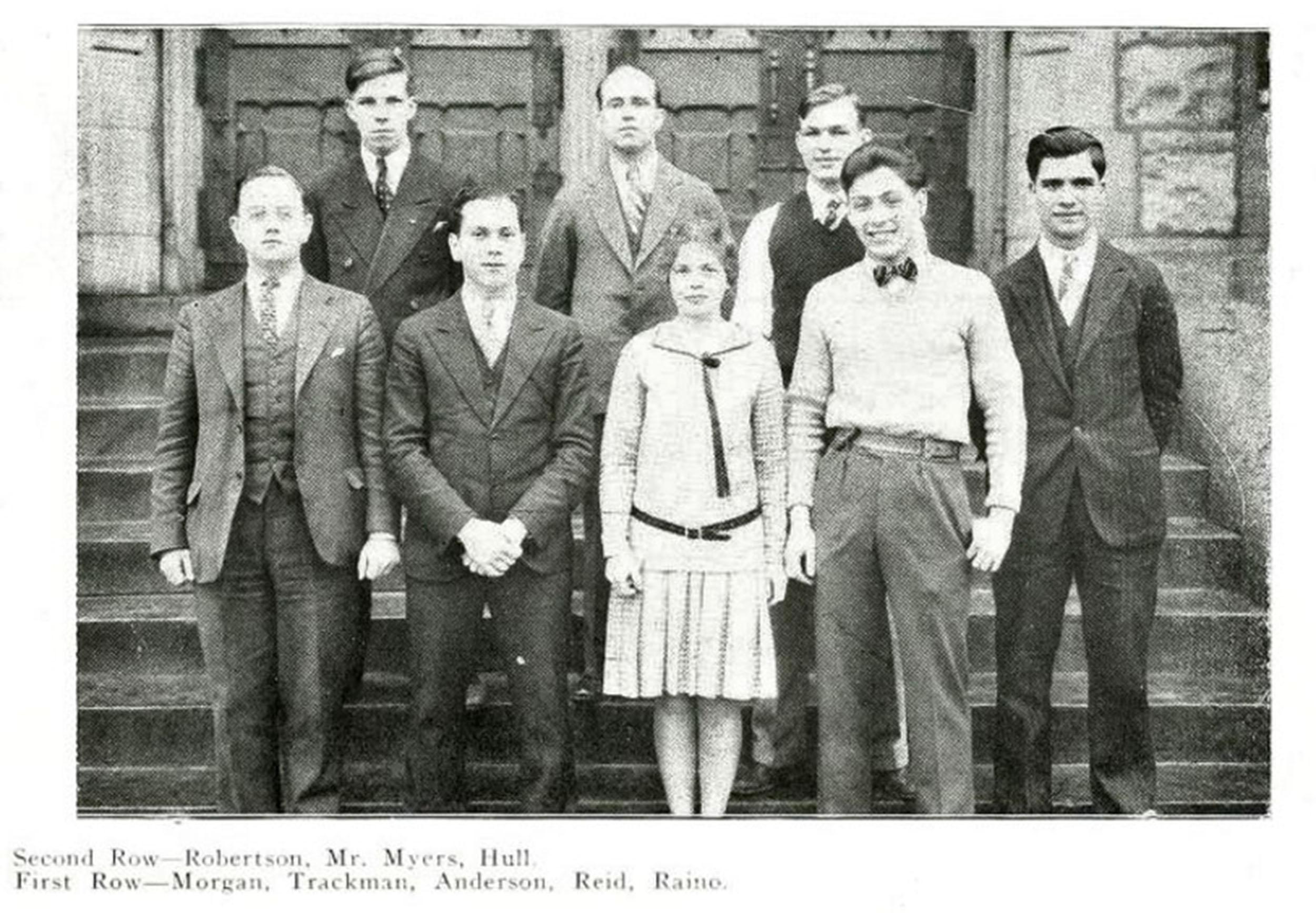 1930 Debating Team JJC Celebrates 115 years anniversary photo