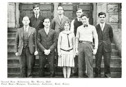 1930 Debating Team JJC Celebrates 115 years anniversary photo