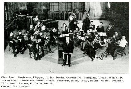 JJC Celebrates 115 Years 1935 Junior College Orchestra