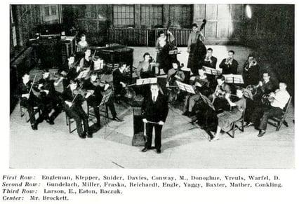 JJC Celebrates 115 Years 1935 Junior College Orchestra