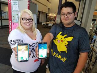 Pokémon GO gotta catch em all at jjc kierstin allen jay burt pikachu