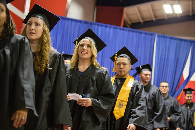 Spring 2016 Commencement JJC 115 years anniversary photo