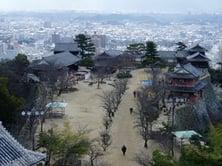 Matsuyama Castle Study Abroad JJC Students Japan