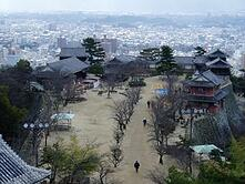 Matsuyama Castle Study Abroad JJC Students Japan