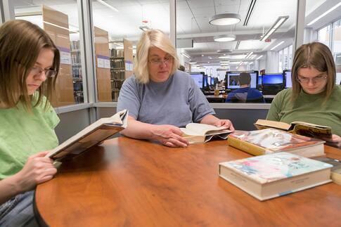 Q&A: The Bopp Family Shares Their Unique Graduation Story Amanda Ashley Audrey library studying