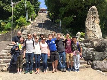 Matsuyama Shrine JJC students