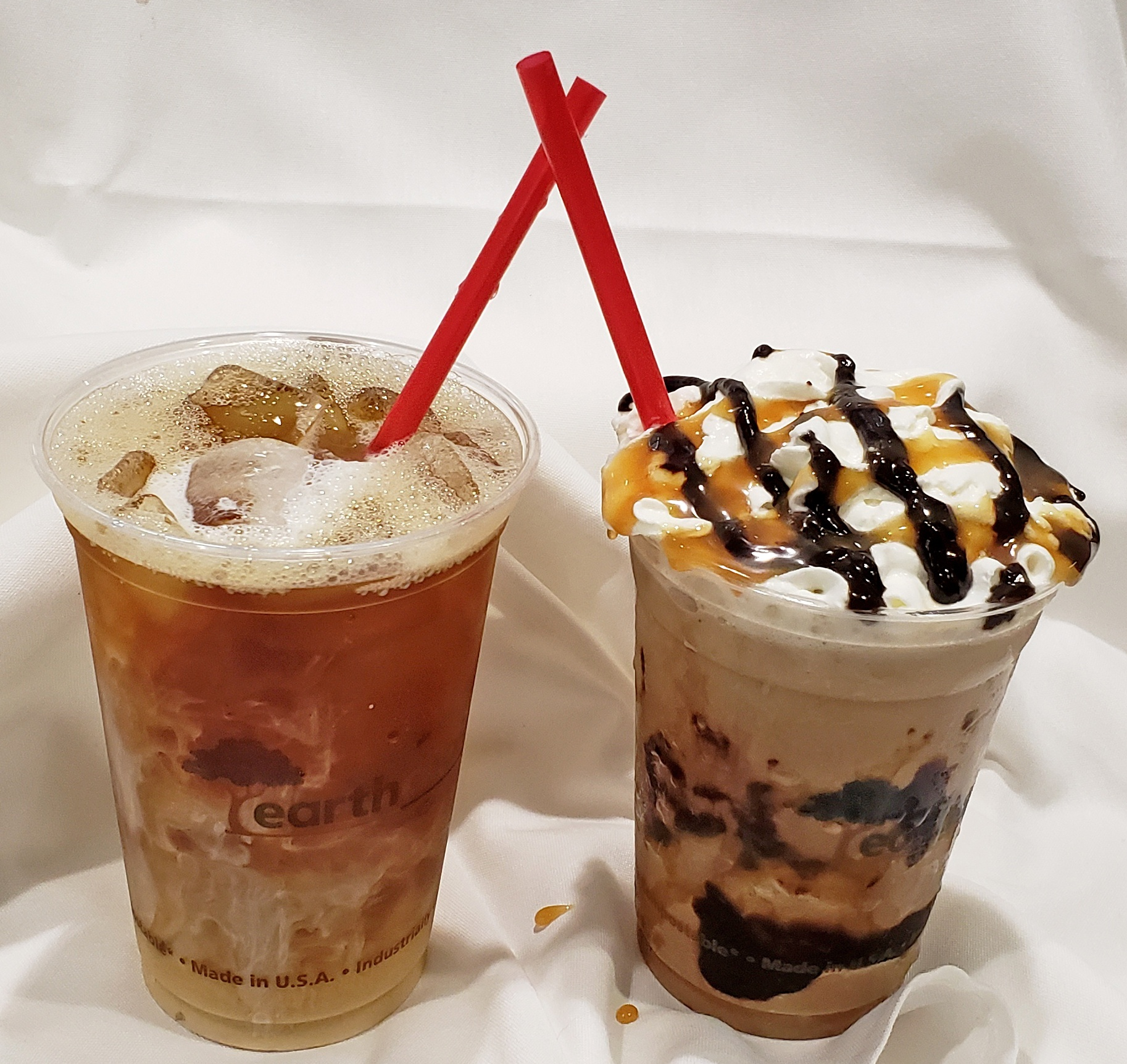 Frapp and Iced Coffee