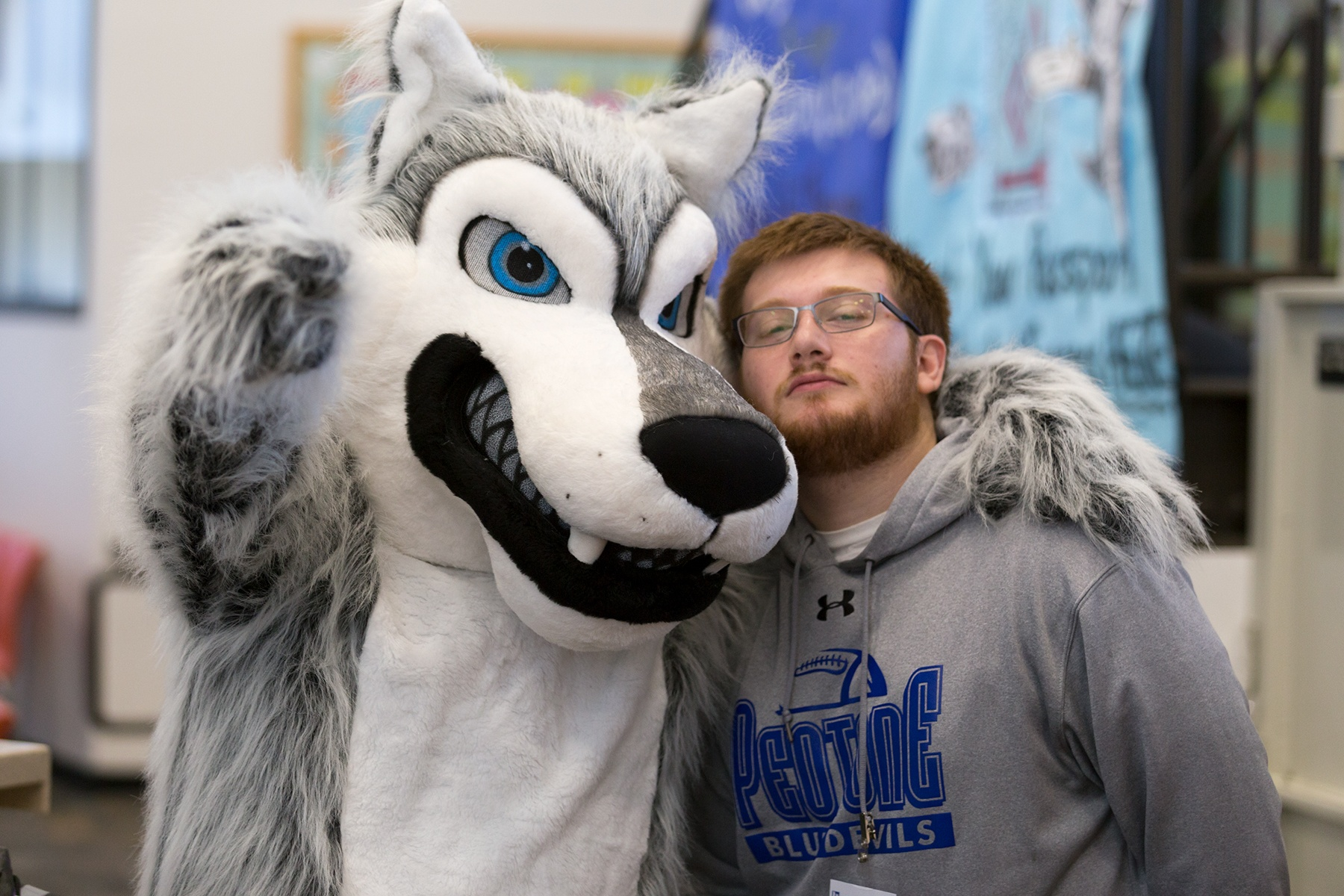 jjc scavenger hunt joliet junior college wiley wolf