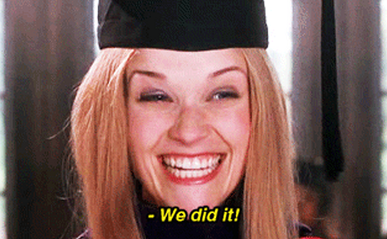 legally blonde graduation joliet junior college community college smart decision