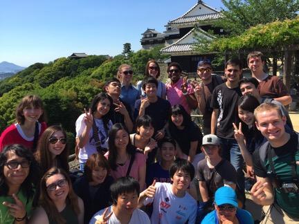 Matsuyama Castle a study abroad experience in japan jjc joliet junior college