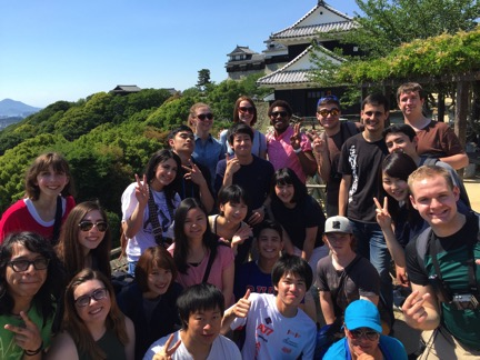 Matsuyama Castle a study abroad experience in japan jjc joliet junior college