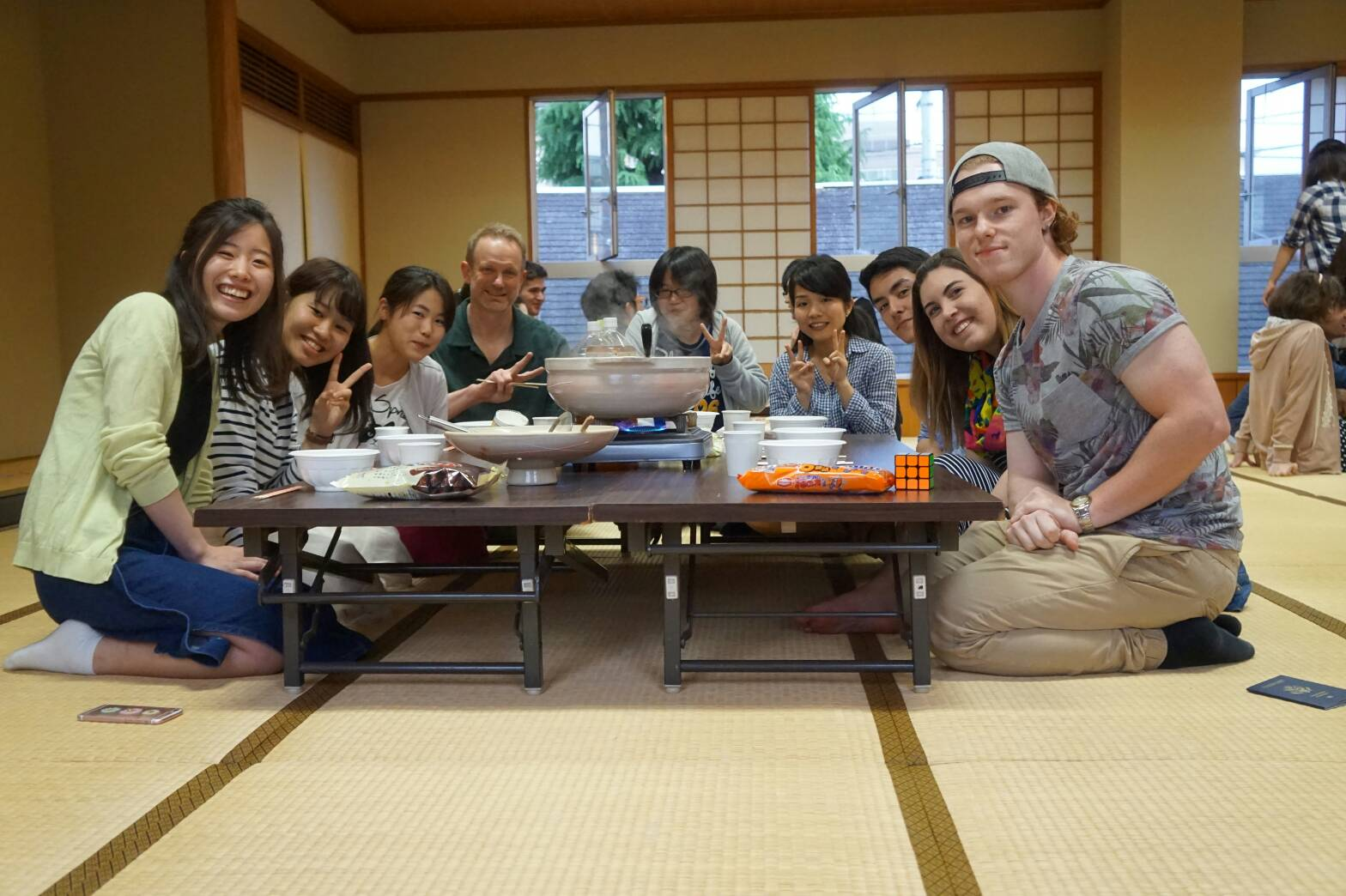 Nabe Dinner a study abroad experience in japan jjc joliet junior college
