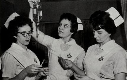 JJC Nursing Students 1963 115 years