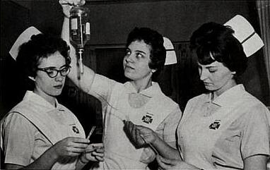 JJC Nursing Students 1963 115 years