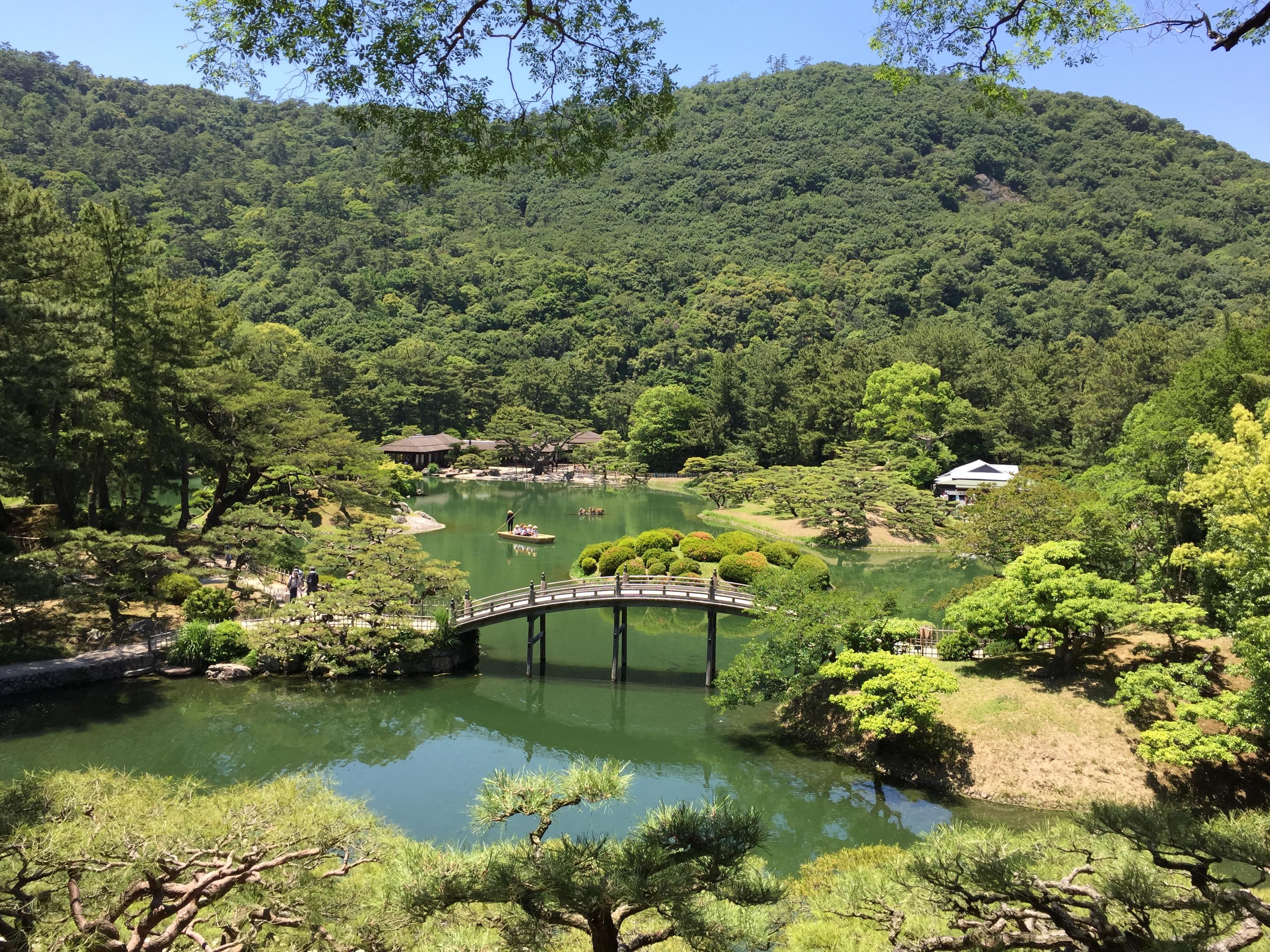 Takamatsu Garden a study abroad experience in japan jjc joliet junior college