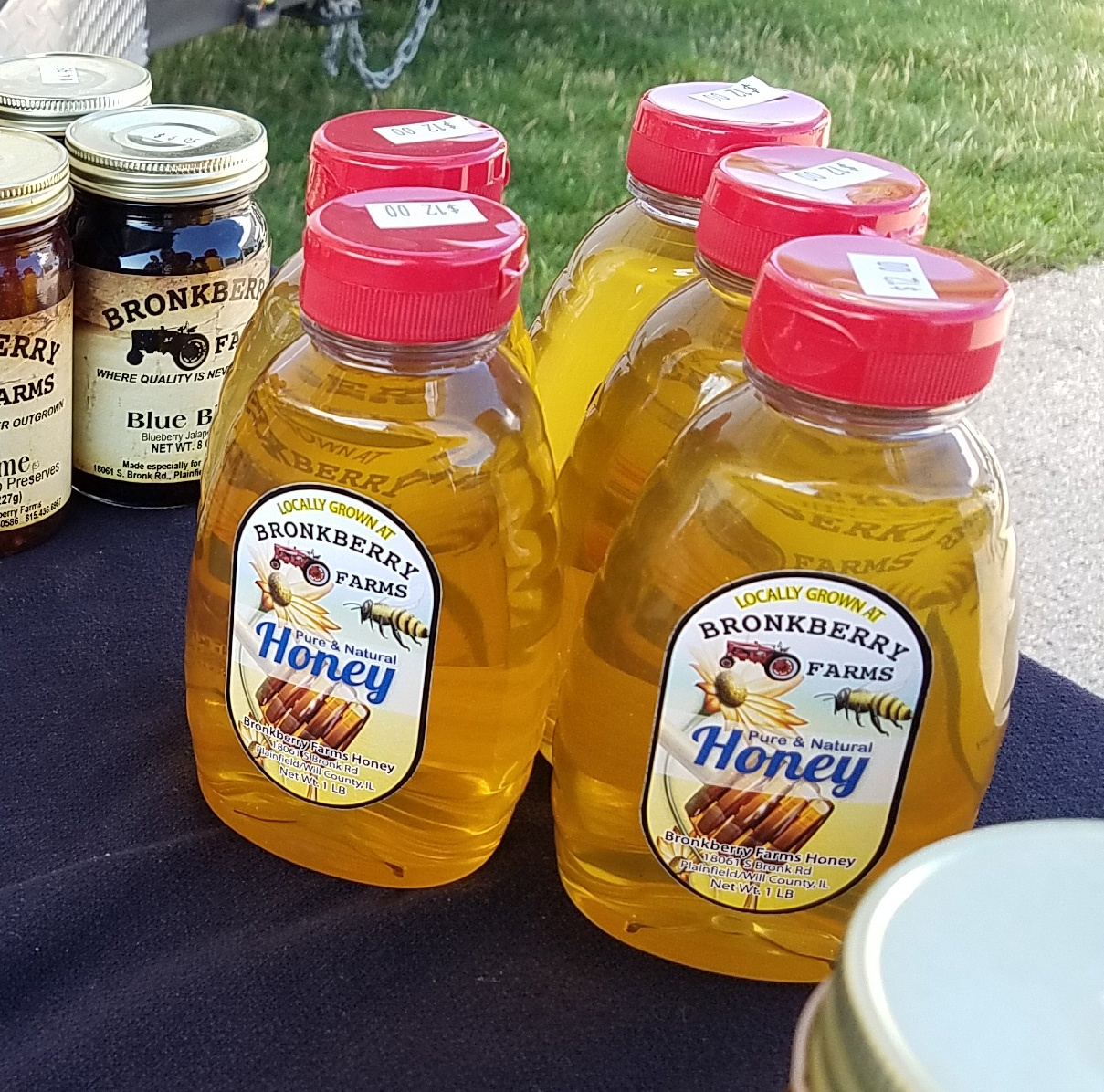 all-natural honey bronkberry farms 8 great finds at the jjc farmers market joliet junior college