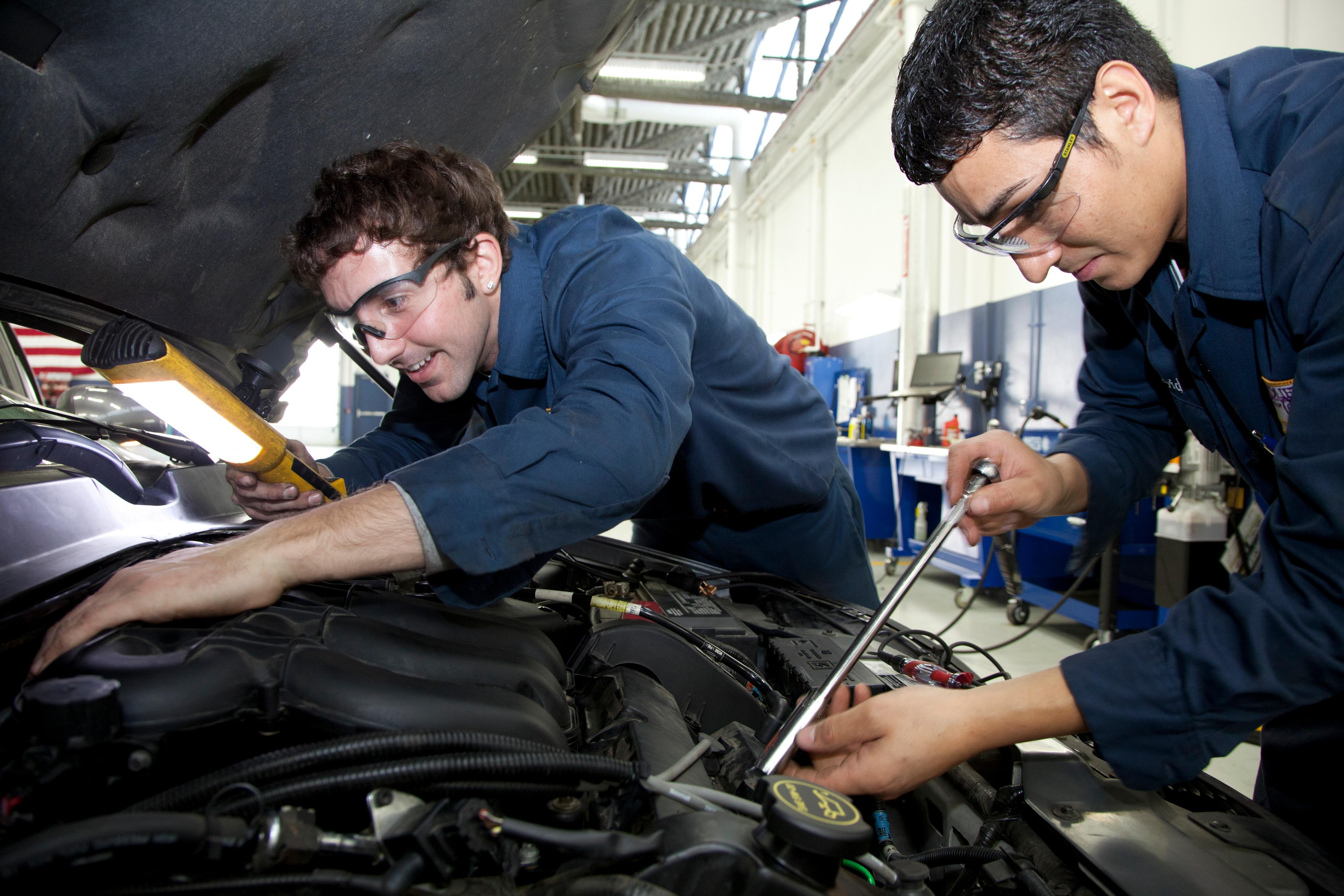 7 superhero-like jobs you can get with a jjc degree superhero joliet junior college auto service technician auto automotive