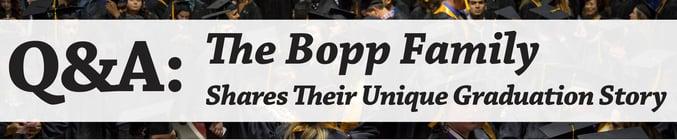 Q&A: The Bopp Family Shares Their Unique Graduation Story JJC Joliet Junior College