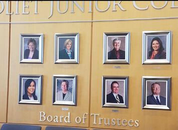 10 things to know about kathleen duong, jjc student trustee board of trustees wall