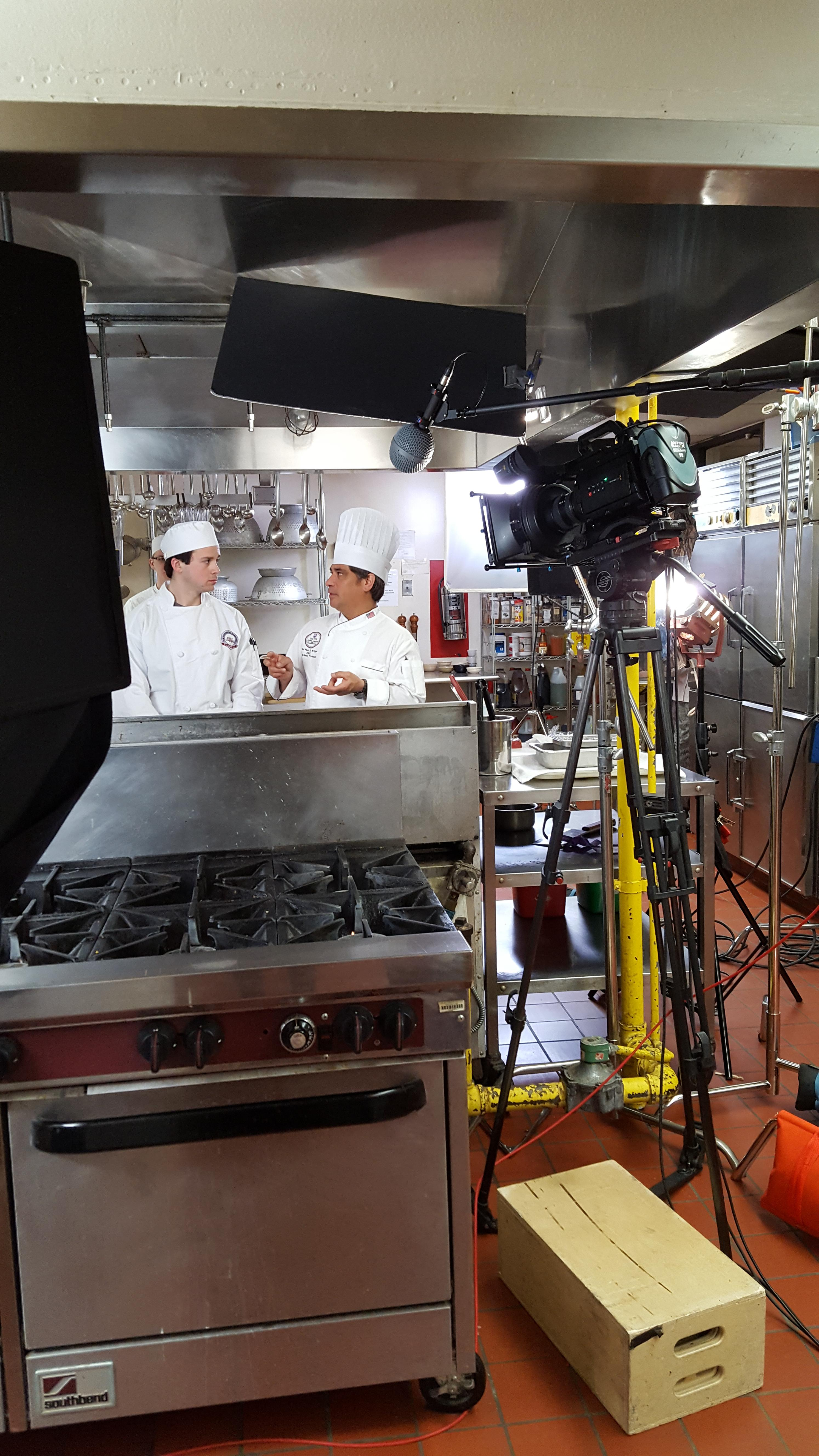 jjc commercials culinary behind the scenes look students