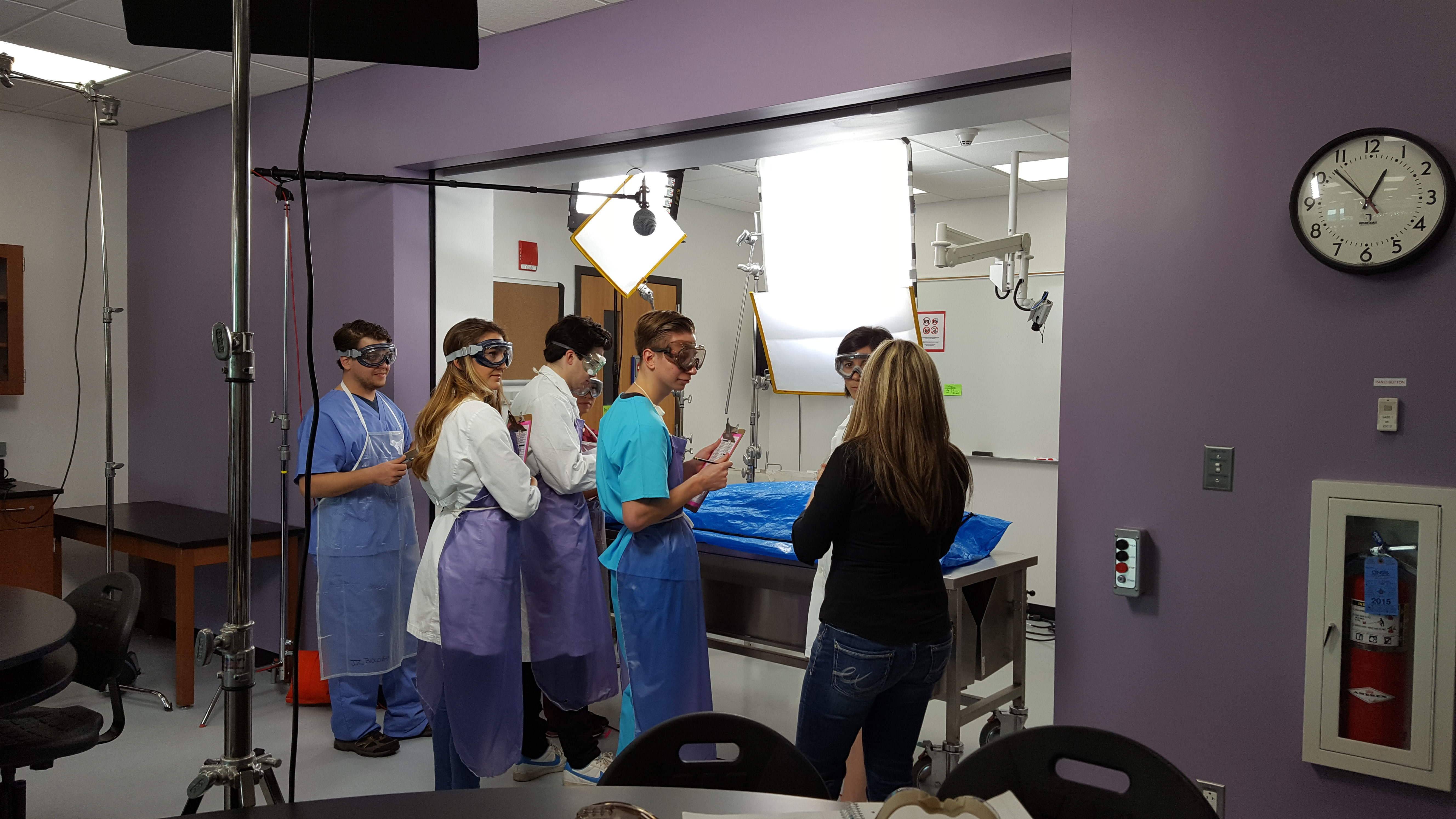 lab setting jjc commercial behind the scenes look