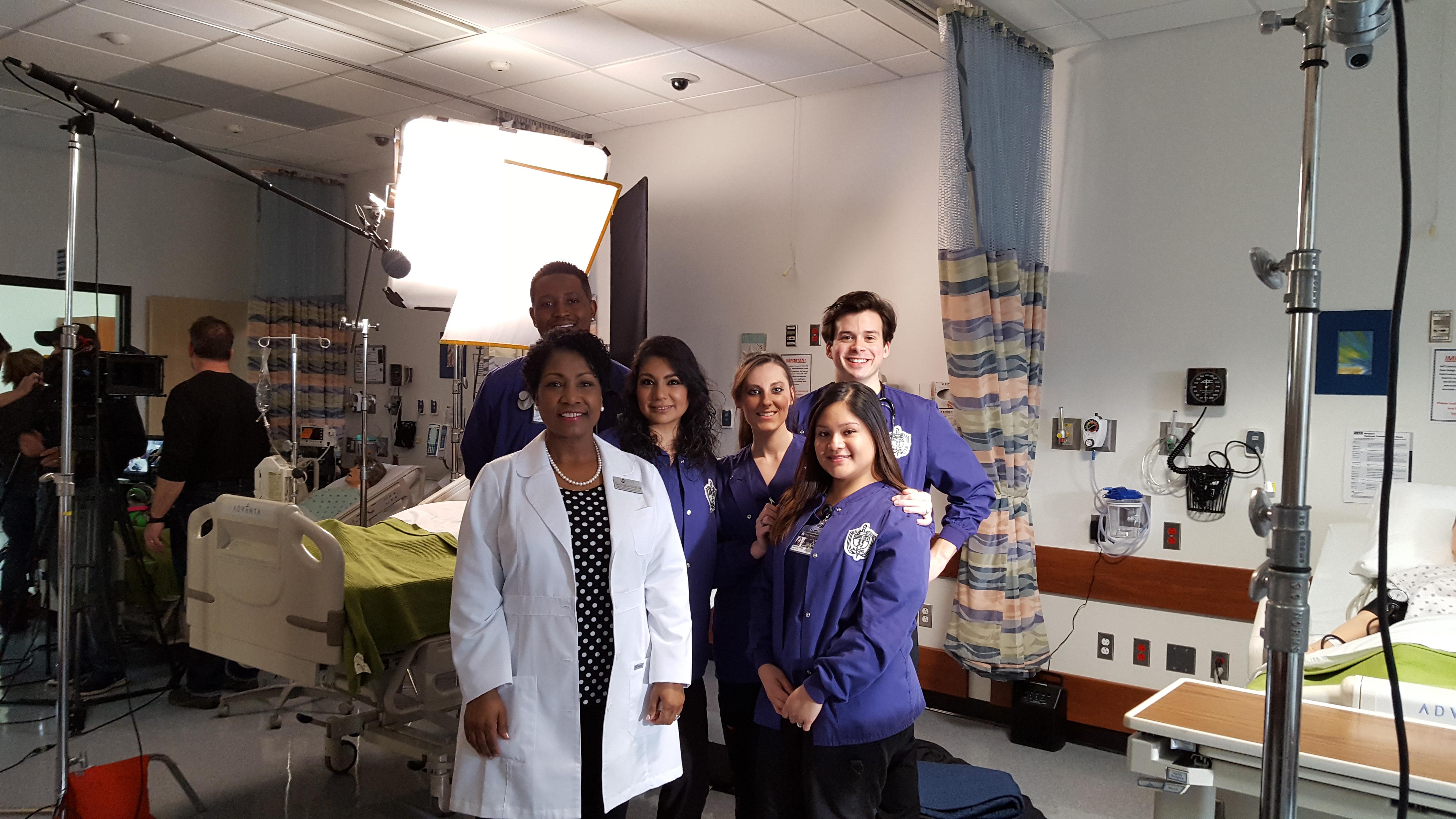 nursing filming behind the scenes look jjc commercial
