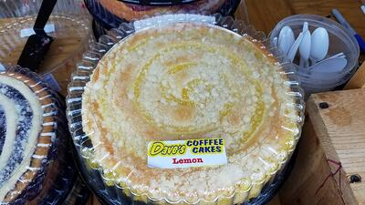 8 great finds at the jjc farmers market joliet junior college coffee cakes dave's coffee cakes