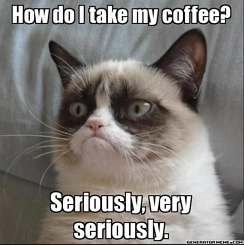 money saving hacks grumpy cat meme make your own coffee  jjc joliet junior college