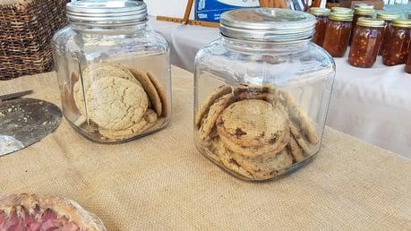 8 great finds at the jjc farmers market joliet junior college chocolate chip cookies blackbird bakehouse