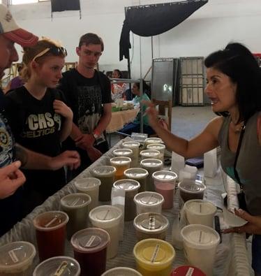 farmers market jjc joliet junior college students study abroad in costa rica