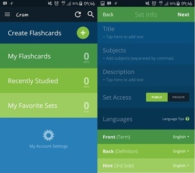 5 helpful apps for students jjc joliet junior college cram flashcards