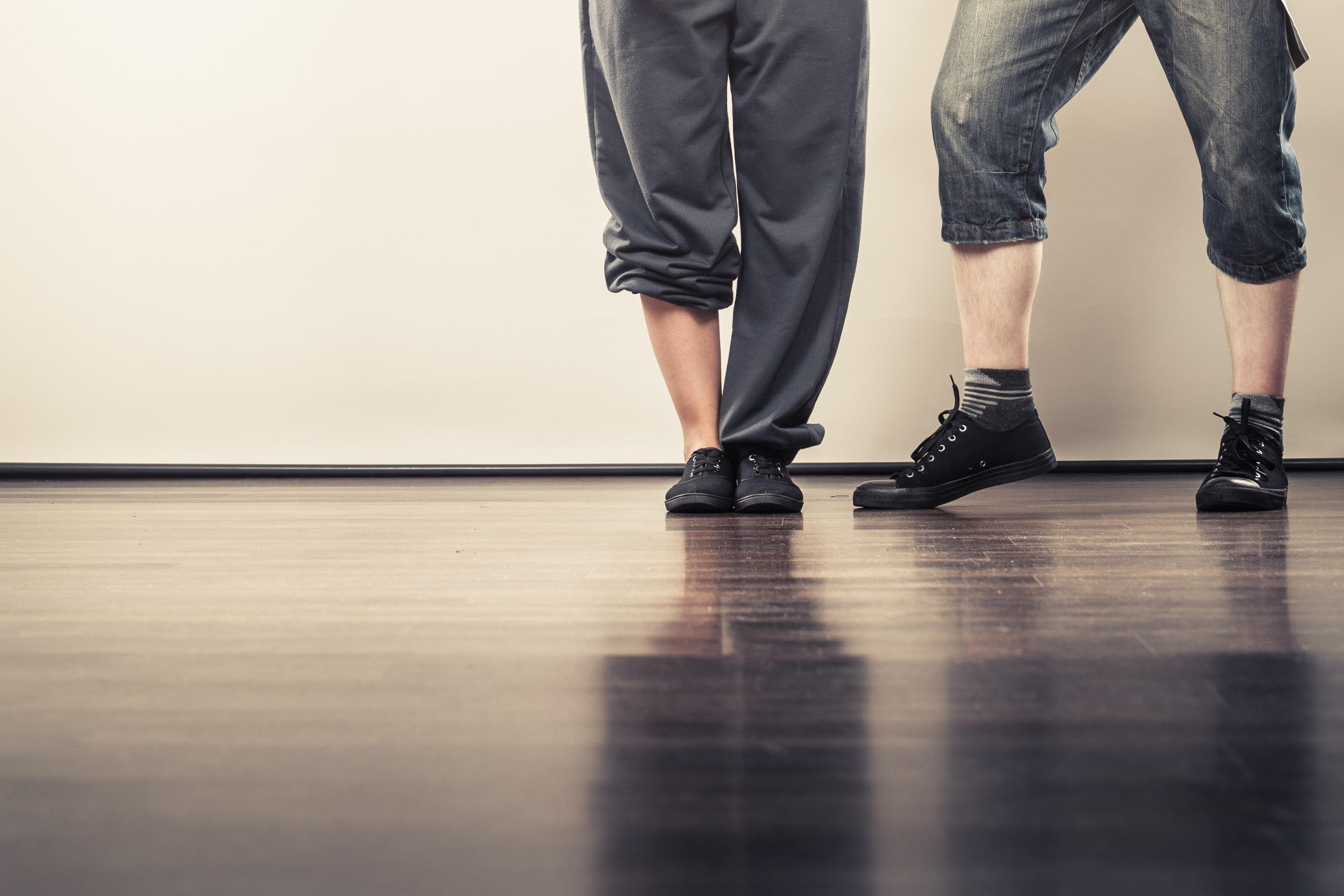dancing feet