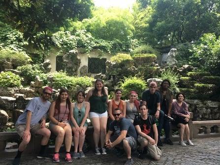 yu garden shanghai Visiting China A Study Abroad Experience jjc Joliet Junior College