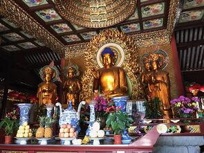 Visiting China A Study Abroad Experience jjc Joliet Junior College buddha temple