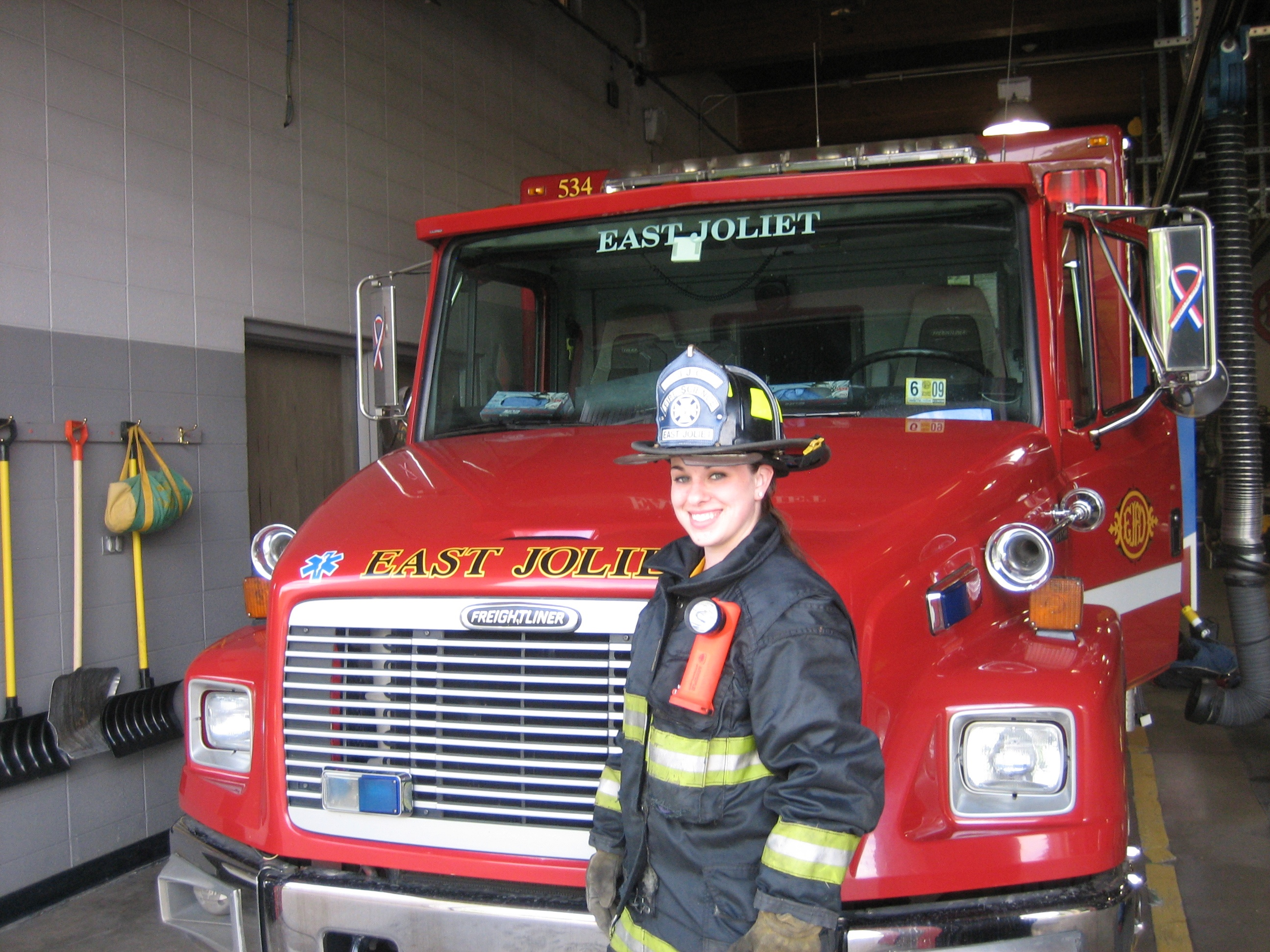 firefighter student 11 hot careers you can study for at jjc joliet junior college