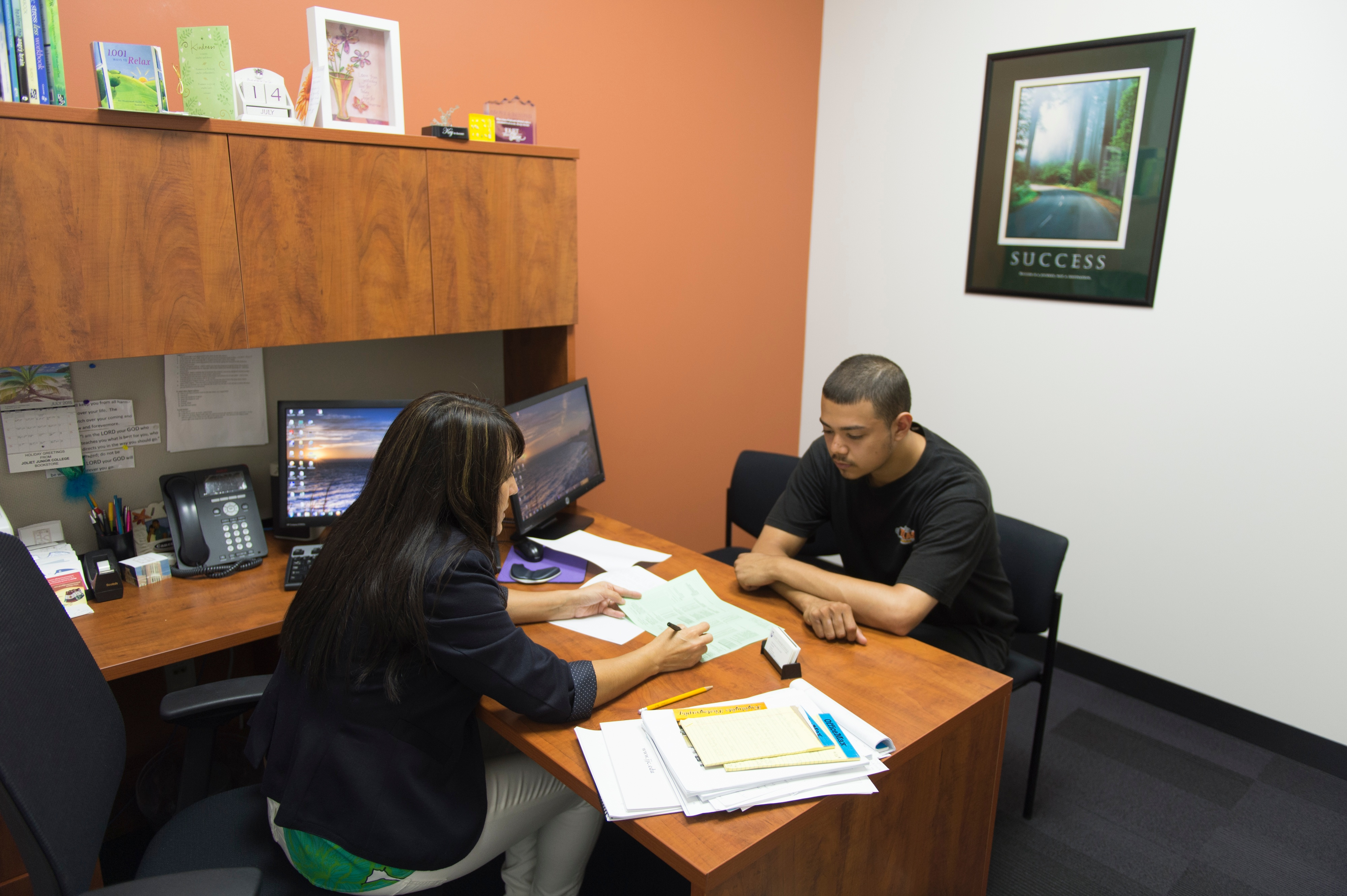 what to expect your first semester at jjc joliet junior college getting help ask for help counseling tutoring