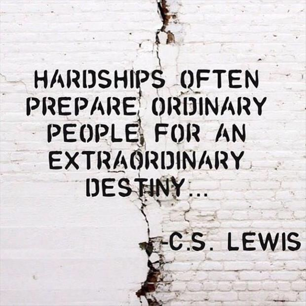 hardships prepare ordinary people for extraordinary destiny  joliet junior college jjc 10 motivators