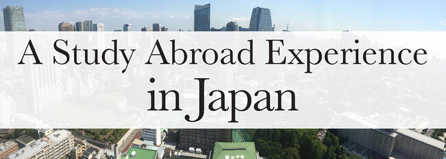 a study abroad experience in japan jjc joliet junior college