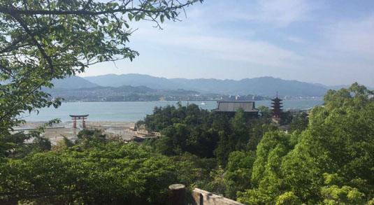 Hiroshima Peace Memorial Museum JJC study abroad trip