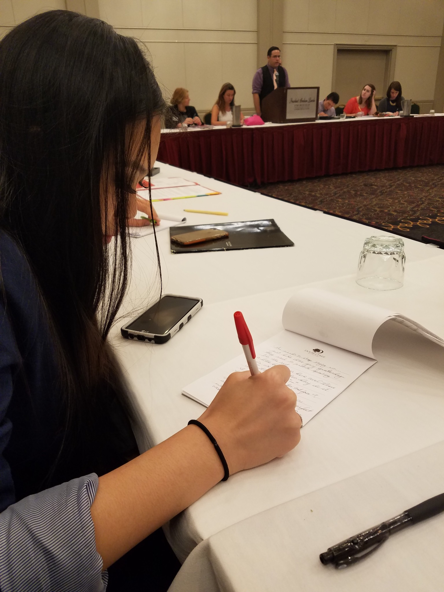 10 things to know about kathleen duong, jjc student trustee listening to jjc student concerns
