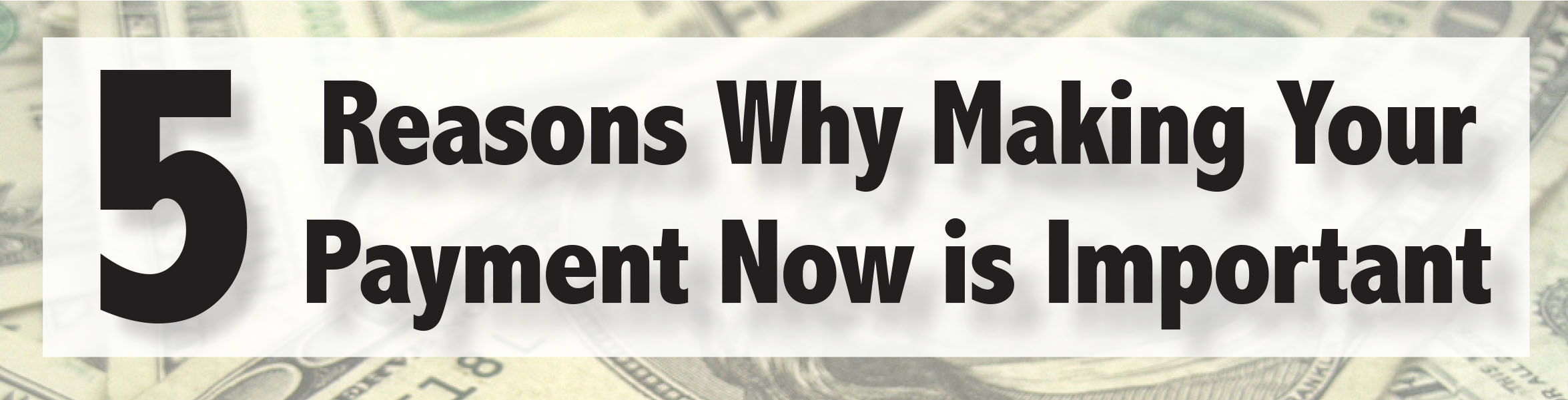 5 reasons why making your payment now is important joliet junior college jjc