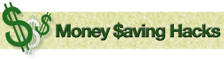 money saving hacks banner  jjc joliet junior college